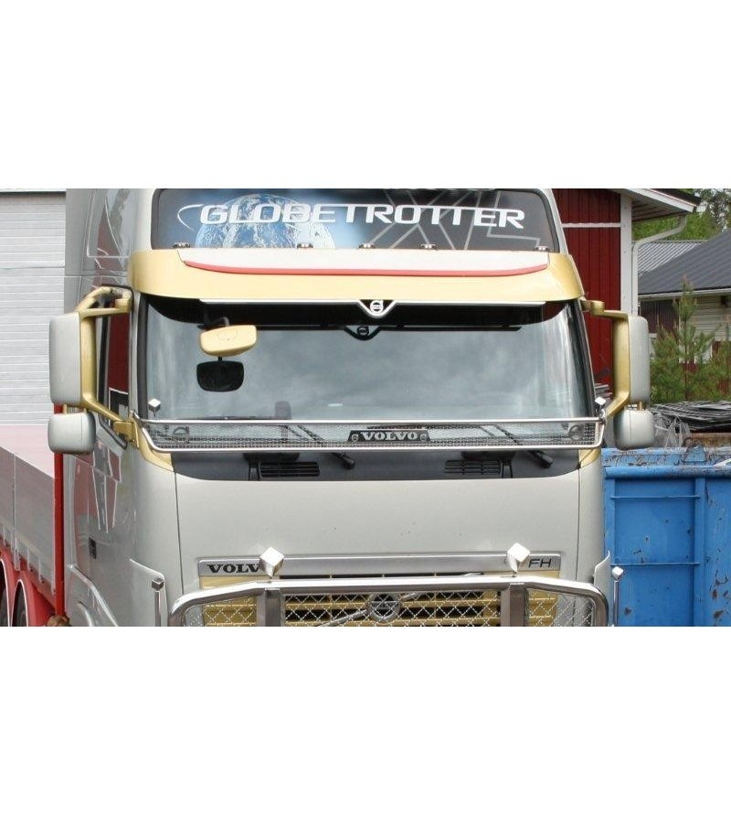 Volvo FH Stoneguard - 100188 - Stainless / Chrome accessories - Unspecified - Verstralershop