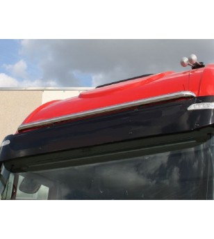 Iveco Stralis BULL BAR BUMPER FOR IVECO STRAIGHT MODEL     - 001I - Roofbar / Roofrails - Acitoinox - Italian series