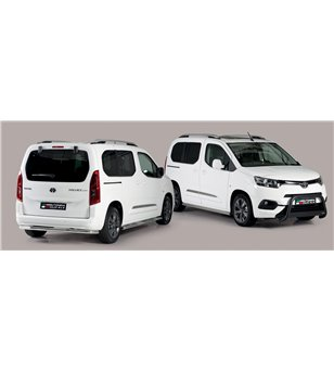 Toyota ProAce City Verso L1 2019- Design Side Protections Inox