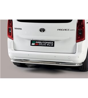 Toyota ProAce City Verso 2019- Rear Protection - PP1/469/IX - Rearbar / Rearstep - Verstralershop