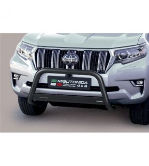 Land Cruiser 150 2018+ Medium Bar EU - Black - EC/MED/430/PL - Bullbar / Lightbar / Bumperbar - Verstralershop