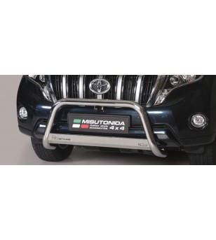 Land Cruiser 150 2014- Medium Bar EU - Black - EC/MED/266/PL - Bullbar / Lightbar / Bumperbar - Verstralershop