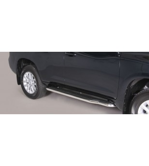 Land Cruiser 150 2014- Side Steps - BLACK - P/255/PL - Sidebar / Sidestep - Verstralershop