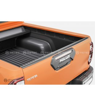 TOYOTA HILUX 16+ CARGO BED PROTECTOR Protector edge of tailgate pcs