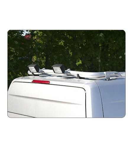 Crafter 07- T-Rack H2 rear - TB90038 - Roofbar / Roofrails - QPAX T-Rack