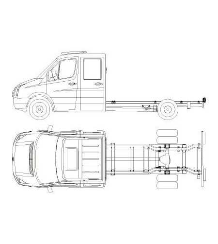 Sprinter 07- T-Rack H1 front Dubbele Cabine/Bestel - TF90026 - Roofbar / Roofrails - QPAX T-Rack