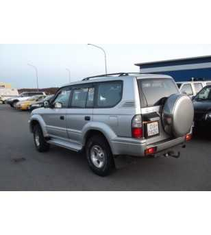 Landcruiser 90 96- Wind deflectors lightsmoke (set - front)