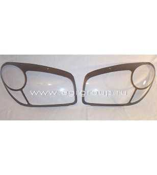 RAV4 04-05 Headlamp Protectors carbon look