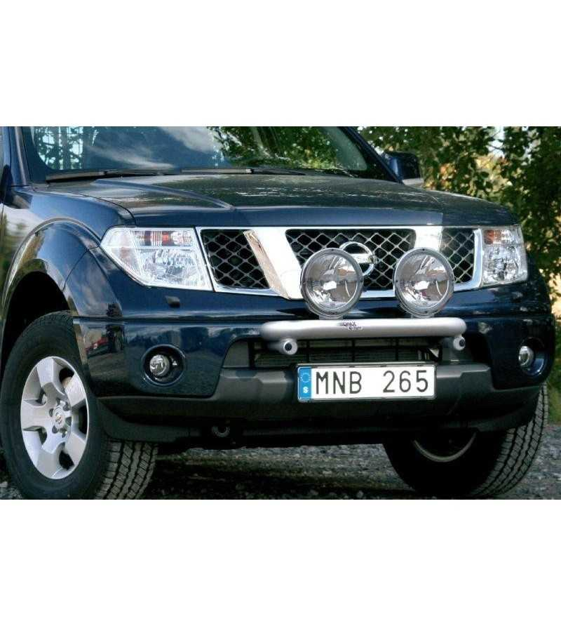 Navara 06-09 Q-Light/2 - Q900142 - Bullbar / Lightbar / Bumperbar - QPAX Q-Light