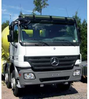 Sun visor Actros MP2 Standard roof with front mirror - 75126472 - Sun visors - Verstralershop