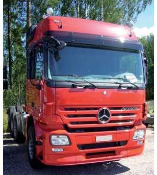 Sun visor Actros MP2 Mega Space & LH with front mirror - 75127472 - Sun visors - Verstralershop
