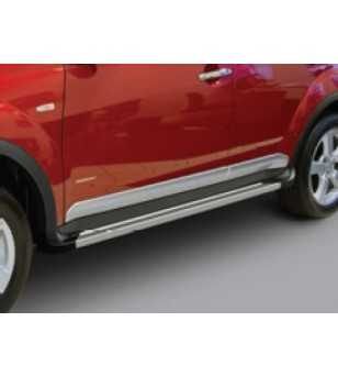 Outlander 07-09 Integrated sidesteps - SS226180 - Sidebar / Sidestep - Unspecified