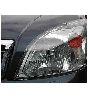Landcruiser 120 03-08 Headlamp Protectors blank - 239180 - Other accessories - Unspecified