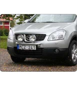 Qashqai 07-09 Q-Light/2 lightbar - Q900045 - Bullbar / Lightbar / Bumperbar - QPAX Q-Light