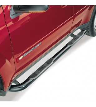 "Ford Ranger/Ranger ""Edge"" Super Cab 4 dr 1999-2011 Signature Step Bars polished"