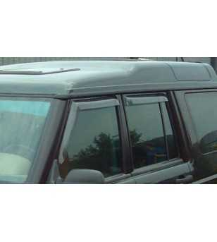 Discovery 98-03 Wind deflectors lichtgetint (set v 2 - achter)