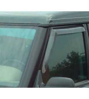 Defender  90/110 94- Wind deflectors lightsmoke (set of 2 front) - 91246001B - Other accessories - Verstralershop