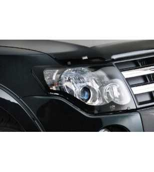 Pajero 07- Headlamp Protectors carbon look - 226190CF - Other accessories - Unspecified