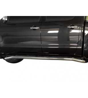 D-Max 08- Sidebars chrome - SBDMAX07-11 - Sidebar / Sidestep - Unspecified