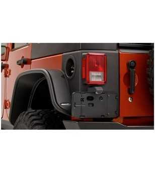 Jeep Wrangler Jk 2007- Trail Armor Rear Corner Pieces  - 4Dr