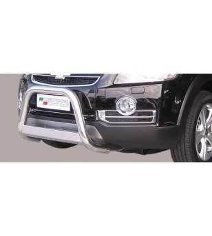 Captiva 06-10 Medium Bar ø63 EU - EC/MED/190/IX - Bullbar / Lightbar / Bumperbar - Unspecified - Verstralershop