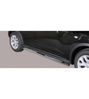 Juke 10- Design Side Protection Oval - DSP/277/IX - Sidebar / Sidestep - Verstralershop