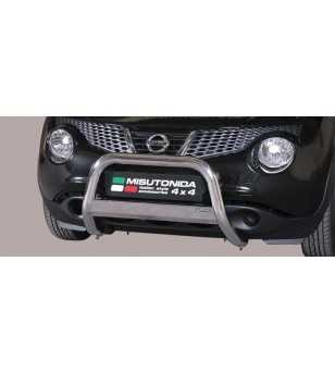 Juke 10- Medium Bar ø63 Inscripted EU - EC/MED/K/277/IX - Bullbar / Lightbar / Bumperbar - Unspecified