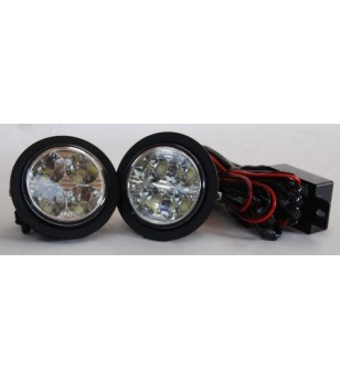 Opel Vivaro 2002- Day Time Running Light Kit Round - LV005 - Lighting - Verstralershop