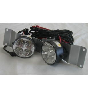Ford Transit 2007+ Day Time Running Light Kit Round - LV003 - Verlichting - Unspecified - Verstralershop