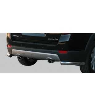 Captiva 06-10 Angular Rear Protection - PPA/190/IX - Rearbar / Opstap - Verstralershop