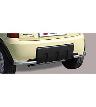 Panda 4x4 05- Angular Rear Protection - PPA/163/IX - Rearbar / Opstap - Unspecified