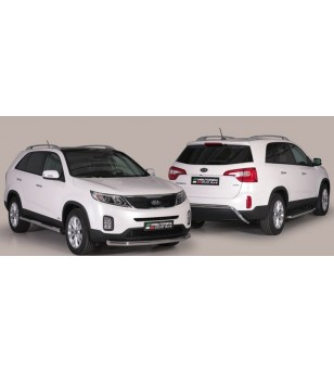 Kia Sorento 2012- Design Side Protection Oval - DSP/337/IX - Sidebar / Sidestep - Unspecified - Verstralershop