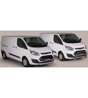 Ford Transit Custom 2013- Design Side Protection Oval L1 - DSP/339/IX - Sidebar / Sidestep - Unspecified - Verstralershop