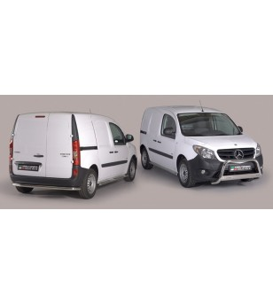 Mercedes Citan 2012- Design Side Protection Oval