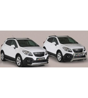 Opel Mokka 2012- Design Side Protection Oval - DSP/318/IX - Sidebar / Sidestep - Unspecified - Verstralershop