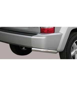 Cherokee 08- Angular Rear Protection - PPA/222/IX - Rearbar / Opstap - Unspecified