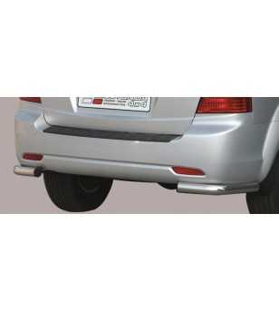 Sorento 07-09 Angular Rear Protection - PPA/188/IX - Rearbar / Rearstep - Unspecified
