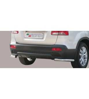 Sorento 09- Angular Rear Protection - PPA/253/IX - Rearbar / Opstap - Unspecified