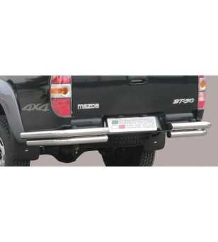 BT50 06- Angular Rear Protection - PPA/195/IX - Rearbar / Rearstep - Unspecified