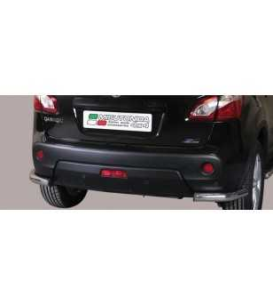 Qashqai 10- Angular Rear Protection - PPA/265/IX - Sidebar / Sidestep - Unspecified