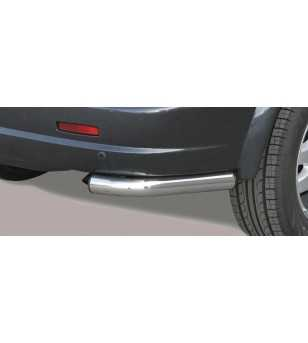 Kyron 06-07 Angular Rear Protection - PPA/173/IX - Rearbar / Rearstep - Verstralershop