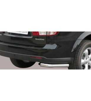 Kyron 07- Angular Rear Protection - PPA/211/IX - Rearbar / Rearstep - Unspecified - Verstralershop