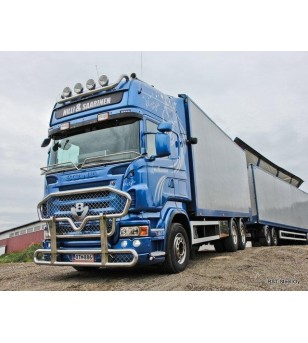 Scania R - serie Stoneguard V2.0 - 1012 - Stainless / Chrome accessories - Unspecified - Verstralershop