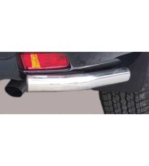 Landcruiser 150 09- 3DR Angular Rear Protection - PPA/266/IX - Rearbar / Opstap - Verstralershop