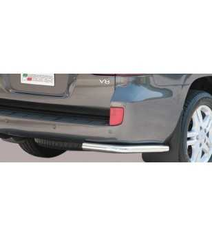 Landcruiser 200 08- Angular Rear Protection - PPA/224/IX - Rearbar / Opstap - Unspecified