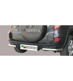 RAV4 06-08 Angular Rear Protection - PPA/175/IX - Rearbar / Opstap - Verstralershop
