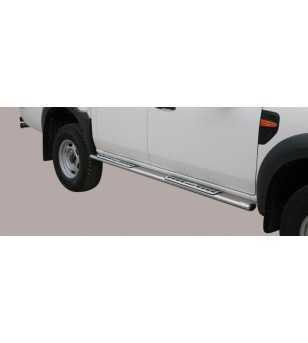 Ranger 09-11 Double Cab Design Side Protection Oval