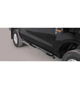 Ranger 12- Double Cab Design Side Protection Oval - DSP/295/IX - Sidebar / Sidestep - Unspecified
