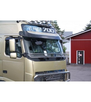 Volvo FM Stoneguard - 100188 - Stainless / Chrome accessories - Unspecified - Verstralershop