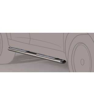 D-Max 08-12 Double Cab Design Side Protection Oval - DSP/197/IX - Sidebar / Sidestep - Unspecified